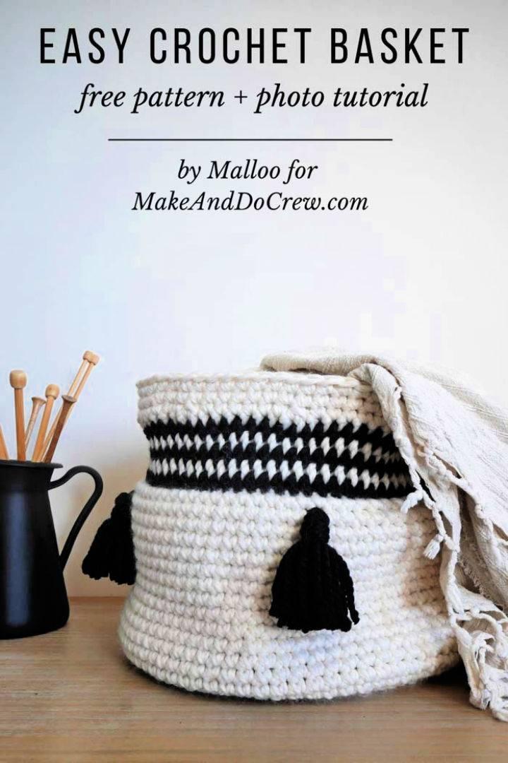 Free Crochet Versatile Basket Pattern
