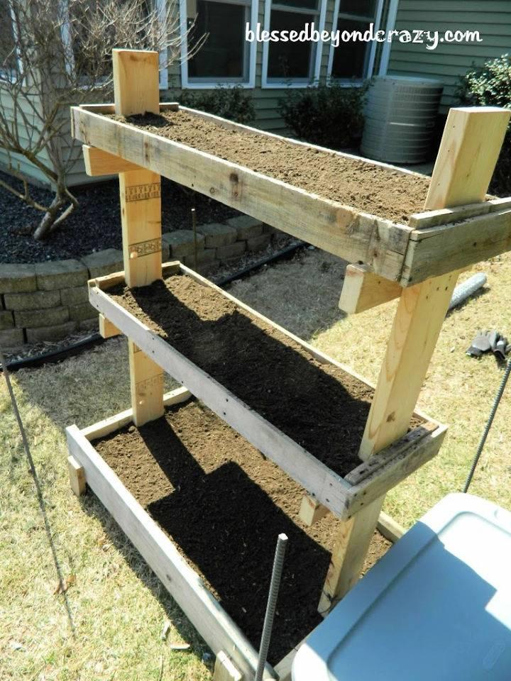 Gardening Box from Pallets