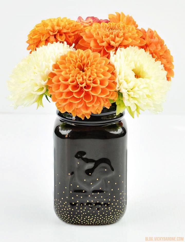 Glass Jar Centerpieces