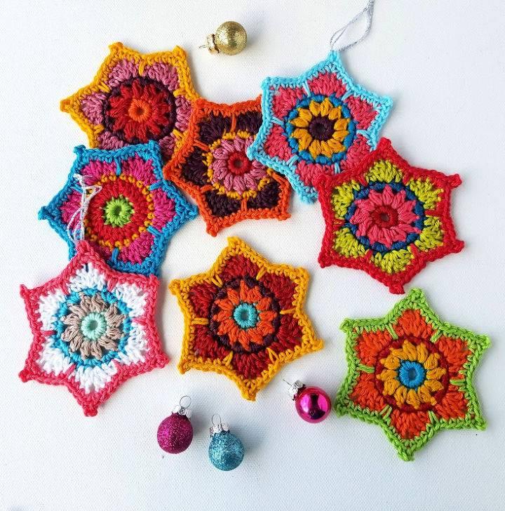 Gorgeous Crochet Stars Pattern
