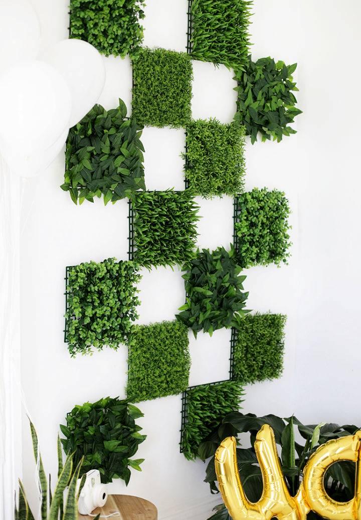 Greenery Wall Backdrop