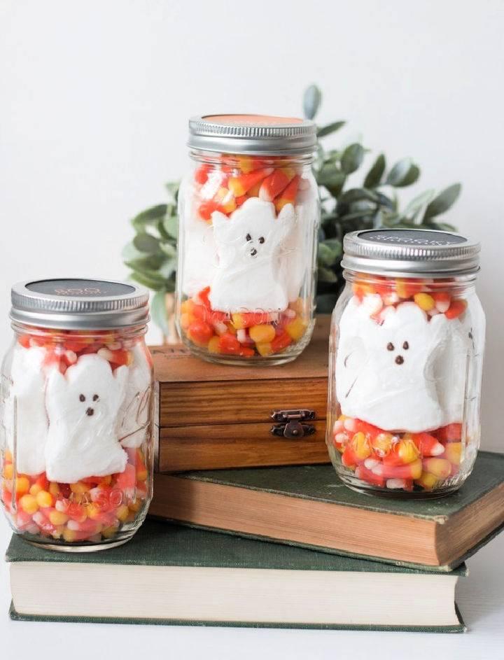 Halloween Mason Jar Treats Free Printable Lid Labels