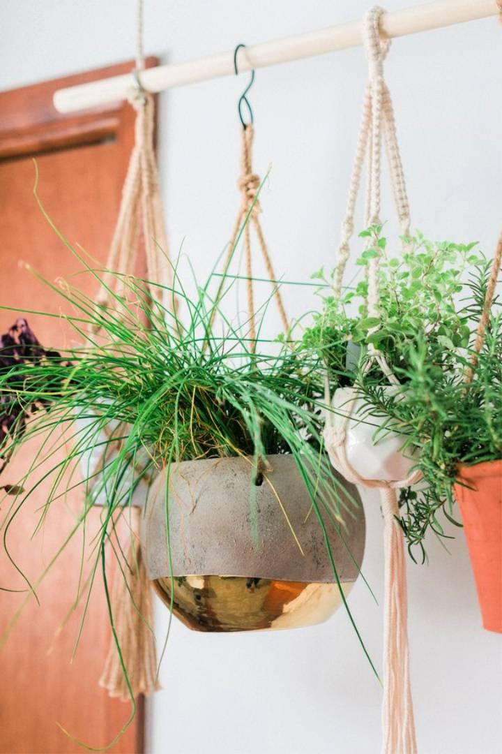 Hanging Herb Plant Garden