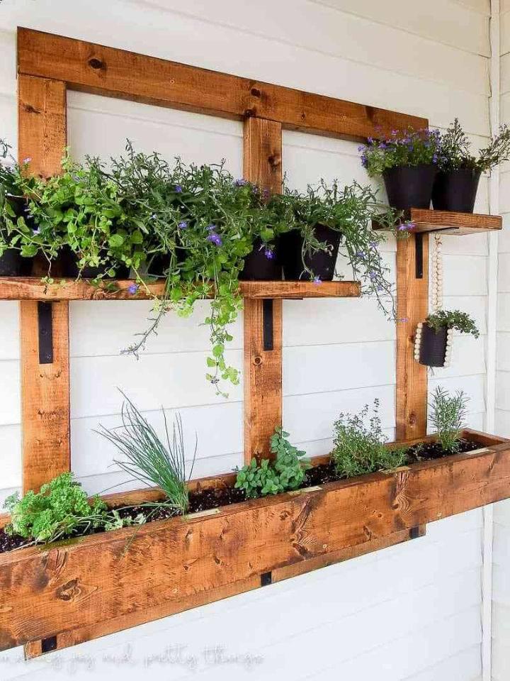 Hanging Vertical Herb Planter