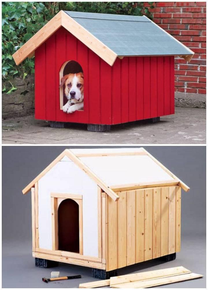 Homemade Dog House