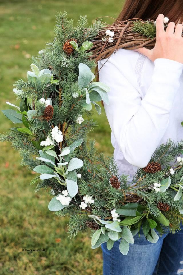 How To Make A Rustic Farmhouse Wreath