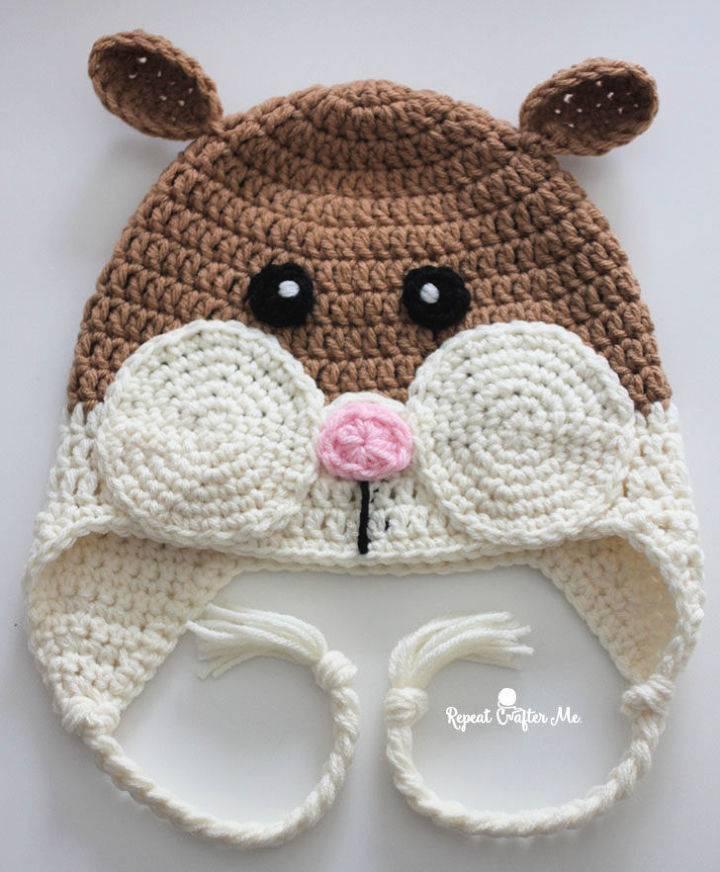 How to Crochet Hamster Hat