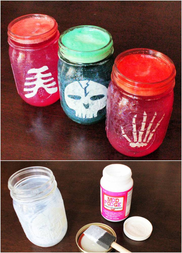 How to Make Halloween Party Jars