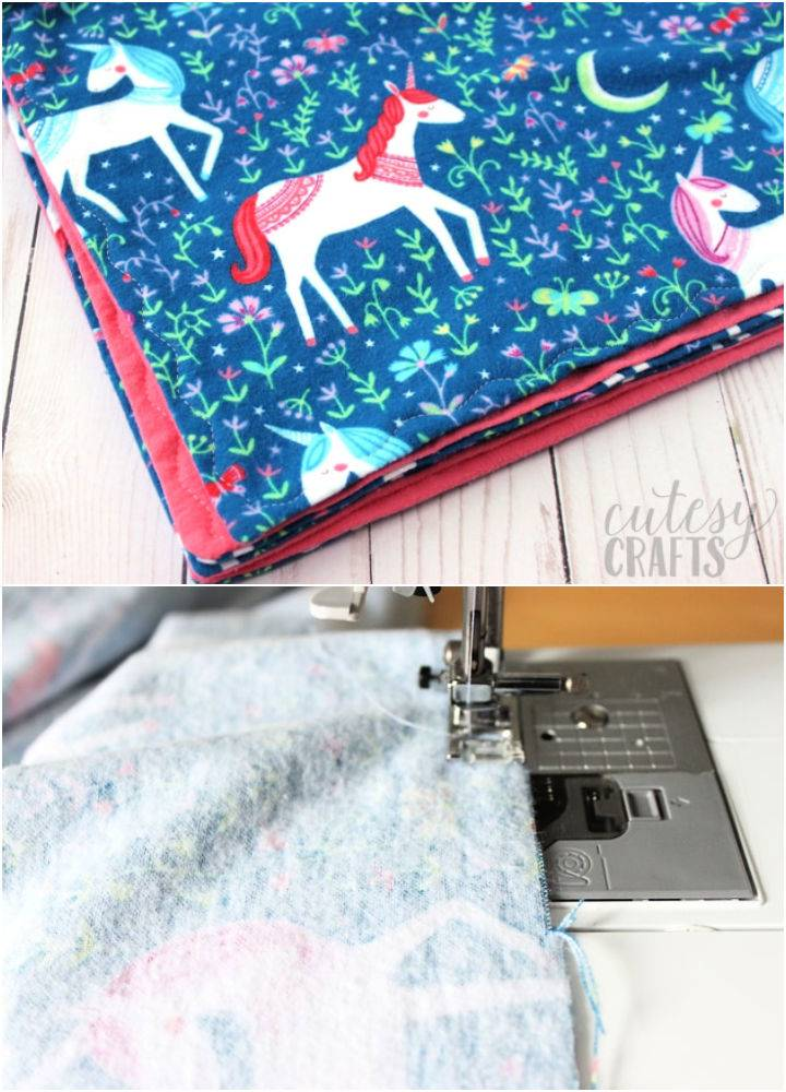 How to Make a Blanket for a Baby
