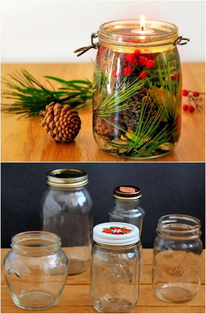 Magical Mason Jar Oil Lamp DIY Oil Candles In 2 Minutes