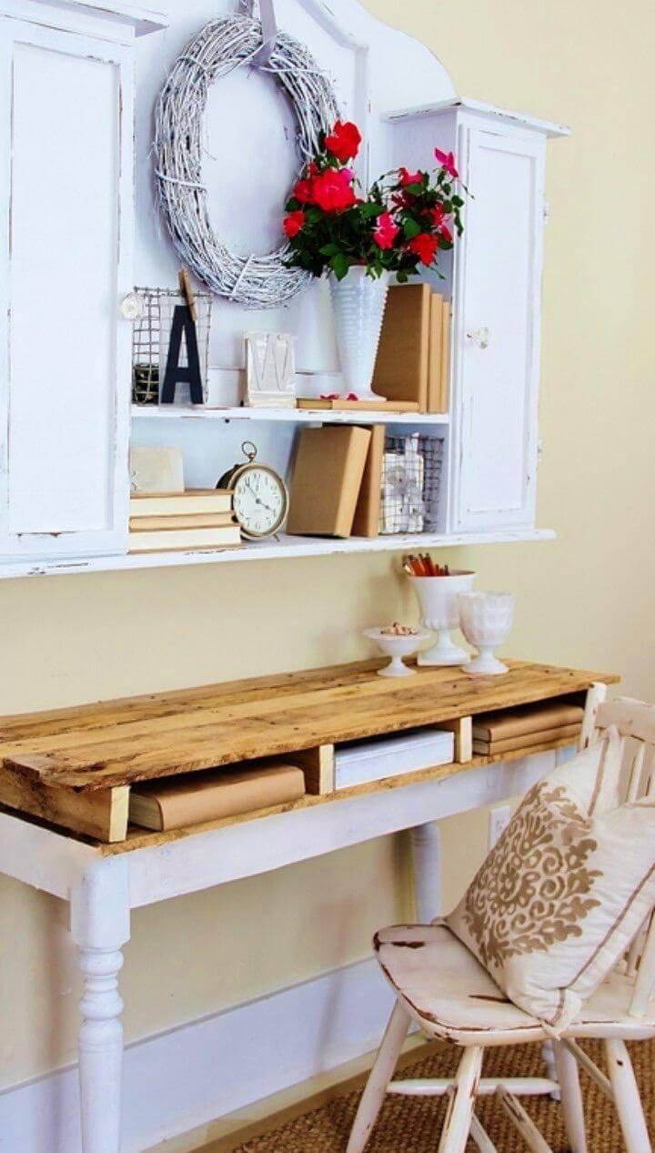 Make Your Own Pallet Desk