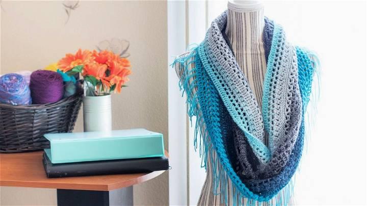 Mandala Cowl Crochet Pattern