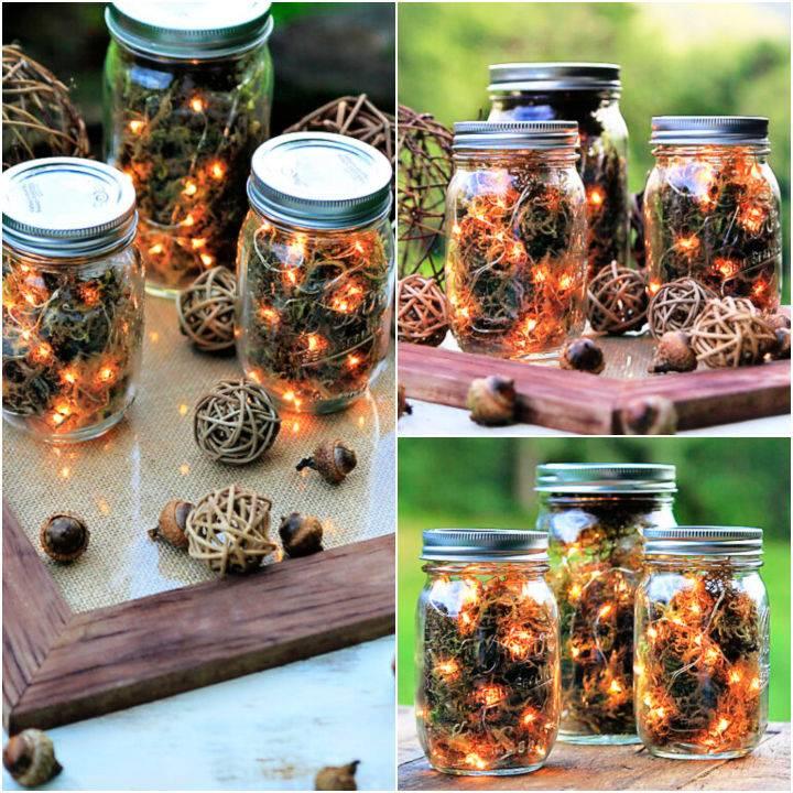 Mason Jar Firefly Lanterns