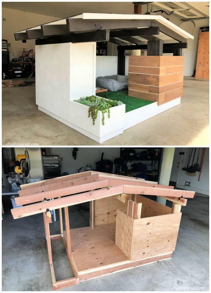 Mid century Dog House