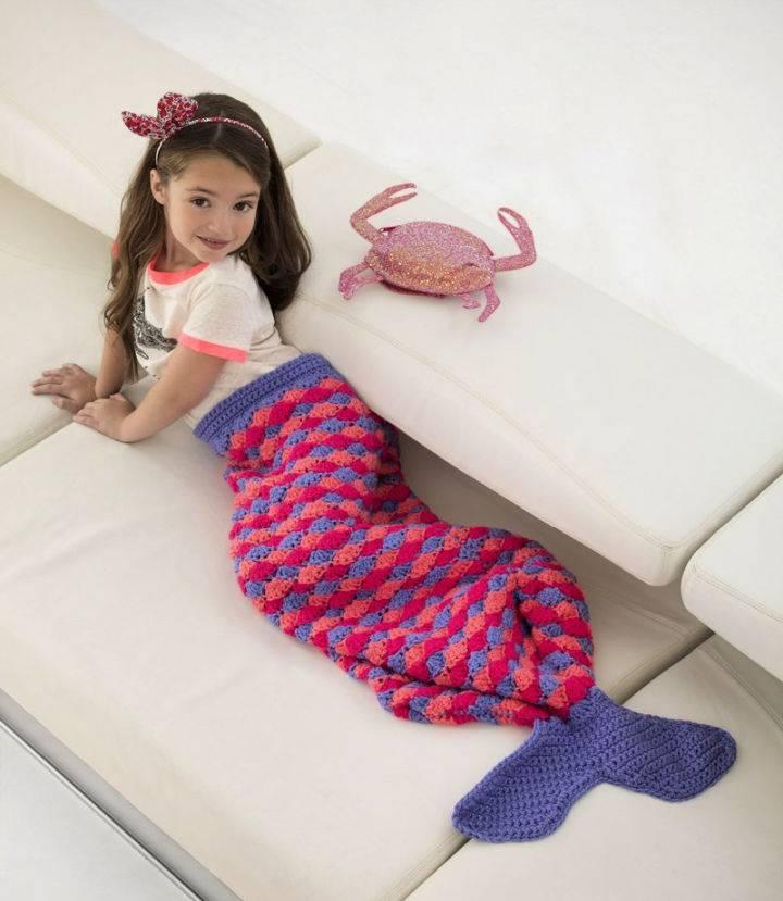 Mini Mermaid Tail Crochet Pattern