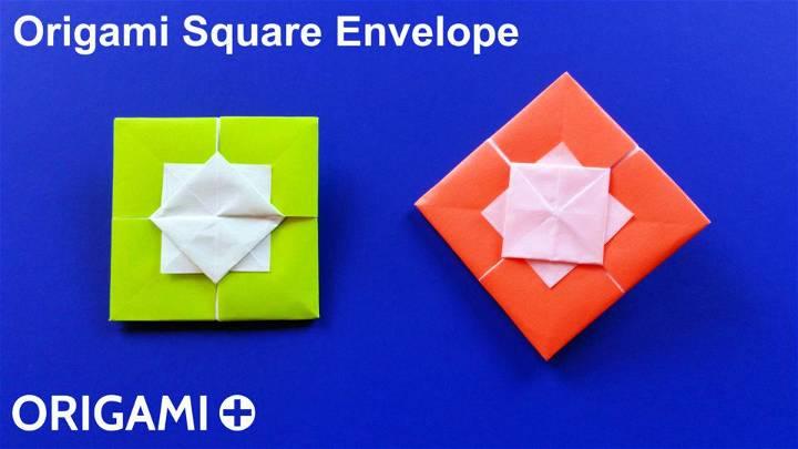 Origami Square Envelopes