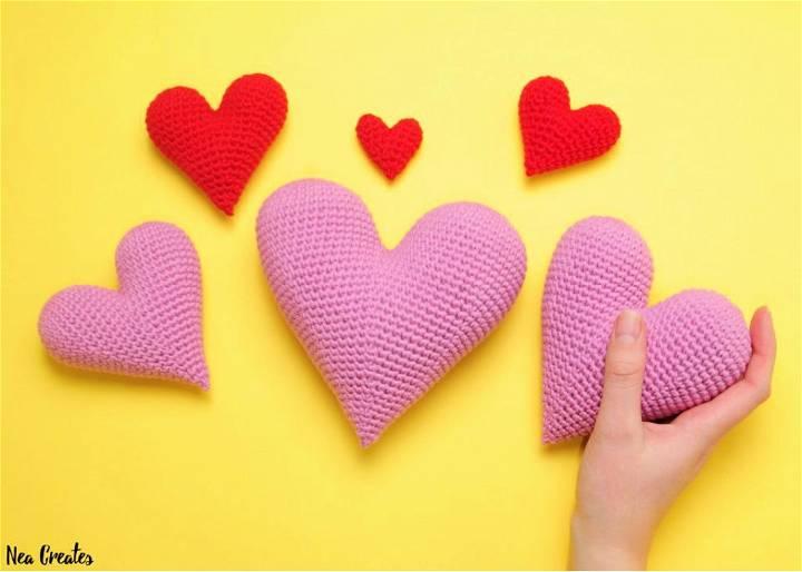 Perfect Crochet Heart Amigurumi Pattern