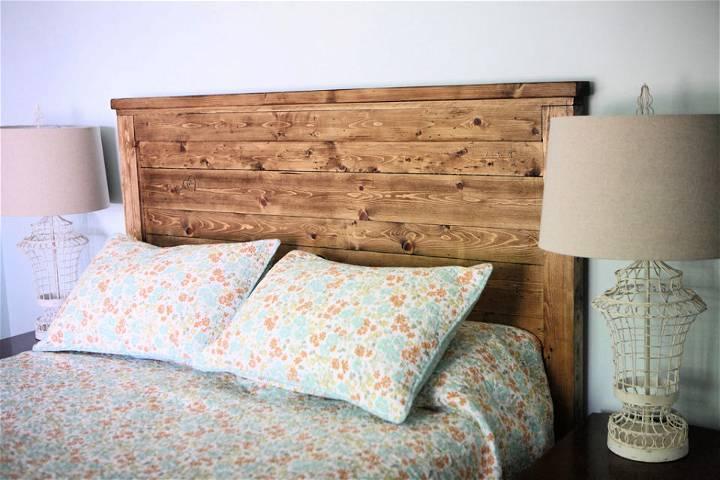 Reclaimed Wood Queen Size Headboard