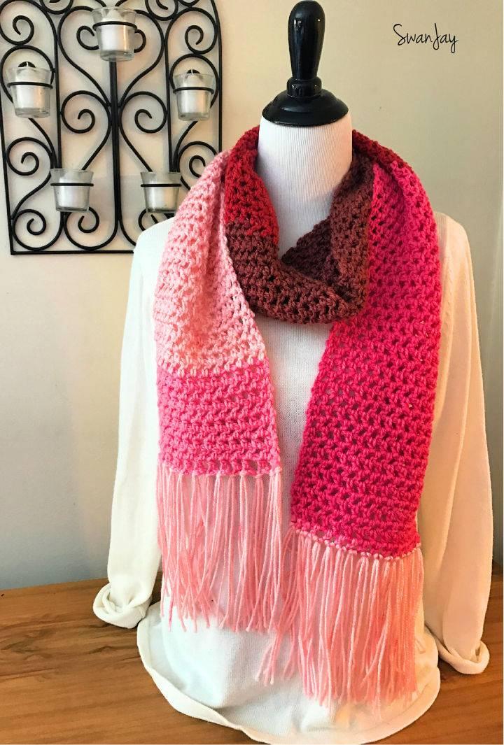 Scarf Love Crochet Pattern