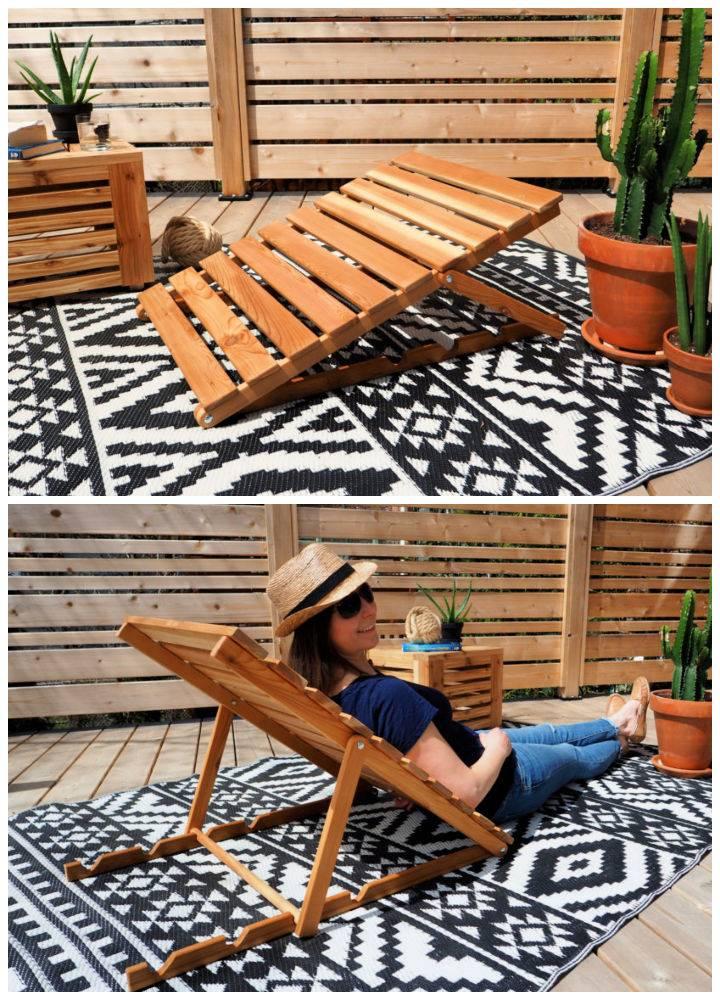 Semi chaise Lounge