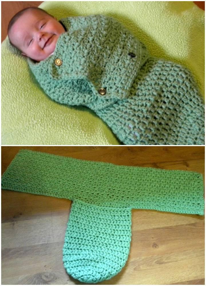Swaddling Cocoon Crochet Pattern