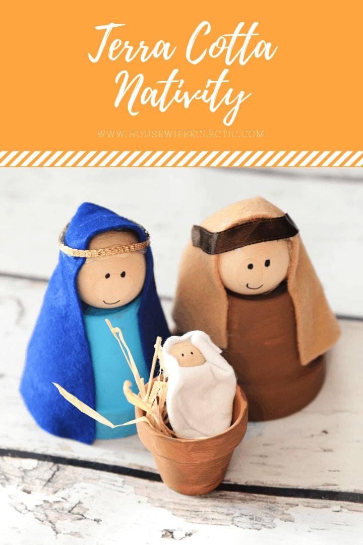 Terra Cotta Nativity