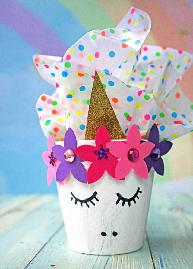 Terra Cotta Pot Unicorn Crafts