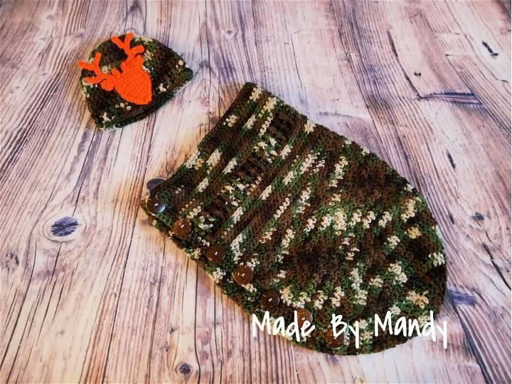 Textured Baby Cocoon Crochet Pattern