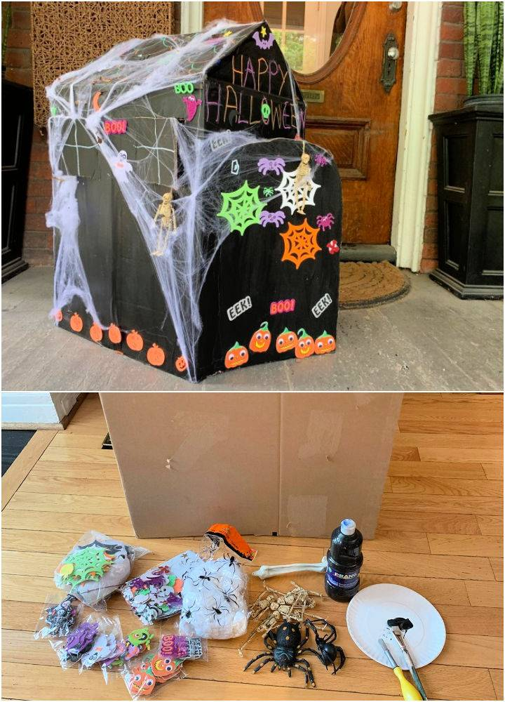 The Best Cardboard Box Haunted House