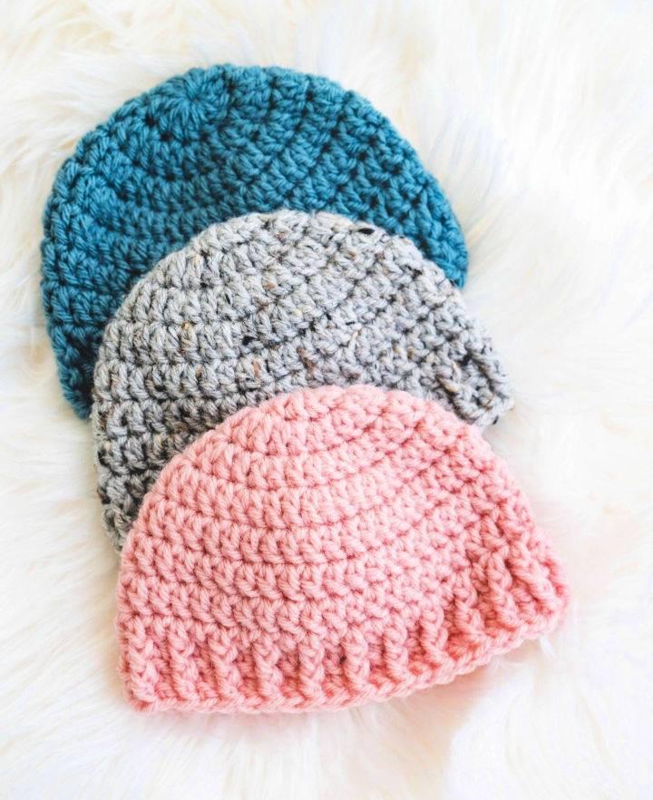 The Parker Crochet Baby Hat Pattern