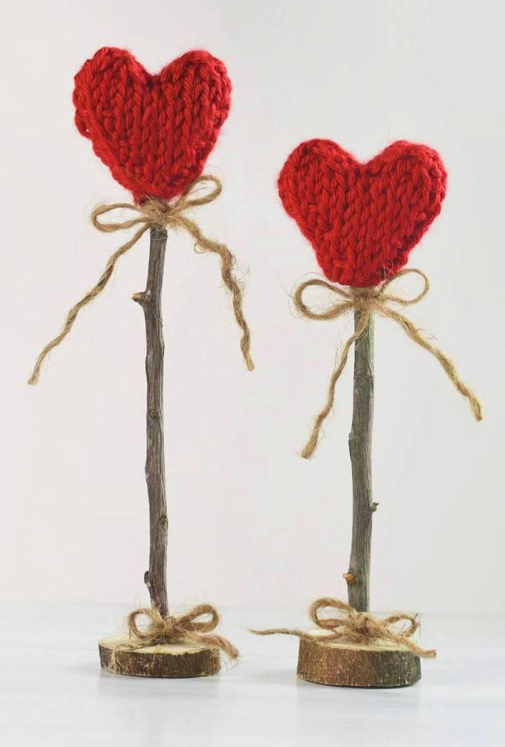 Tunisian Heart Crochet Pattern