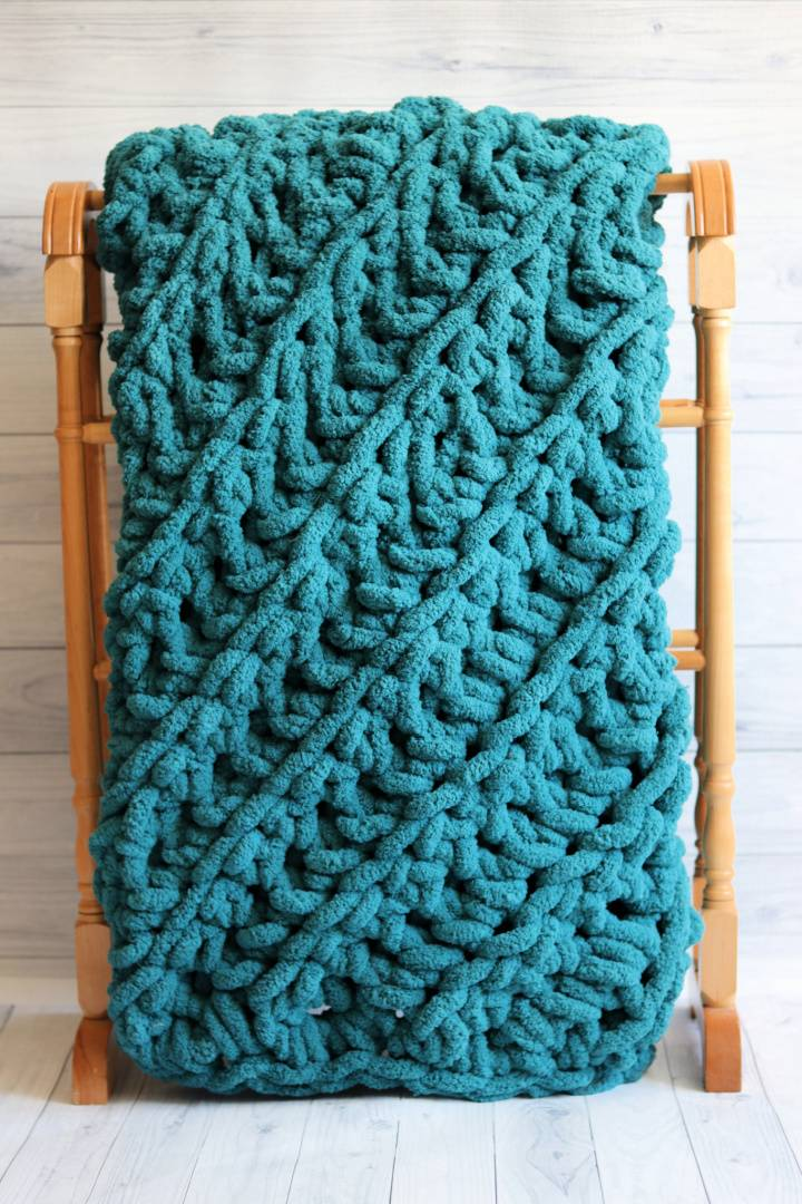 Two Hour C2C Crochet Blanket Pattern