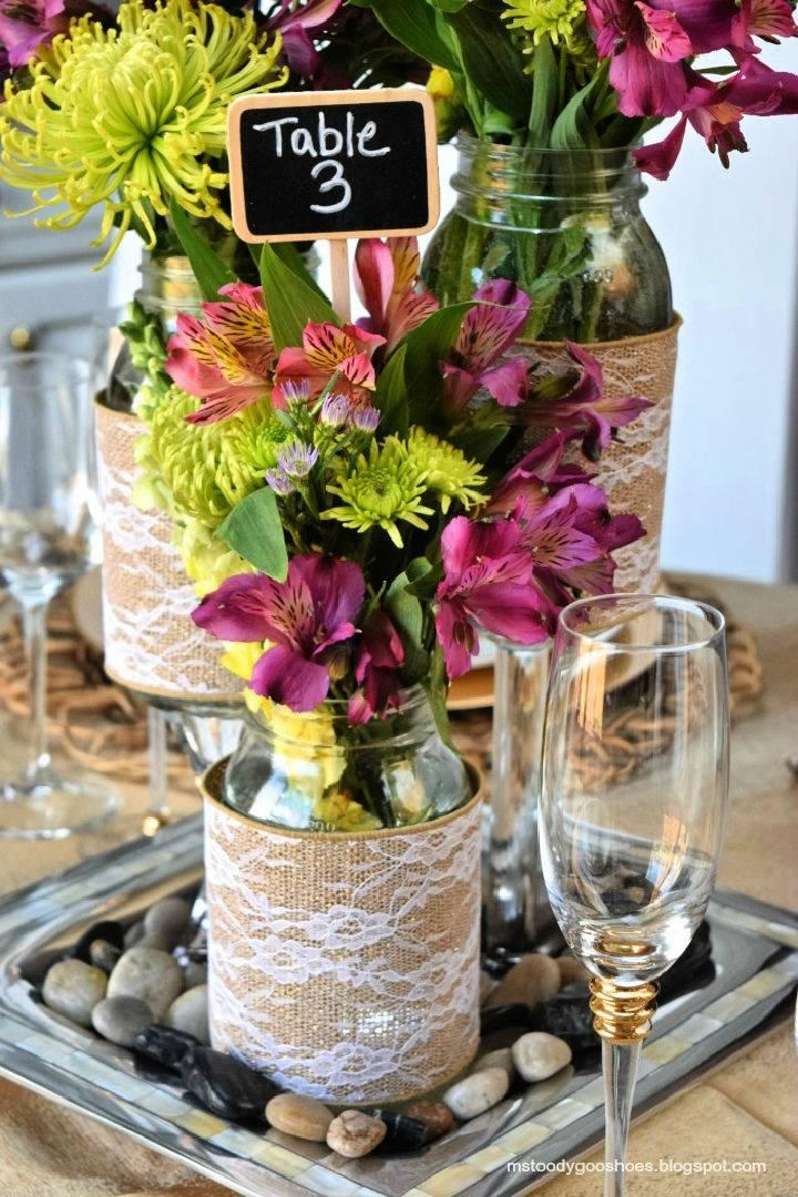 Wedding Mason Jar