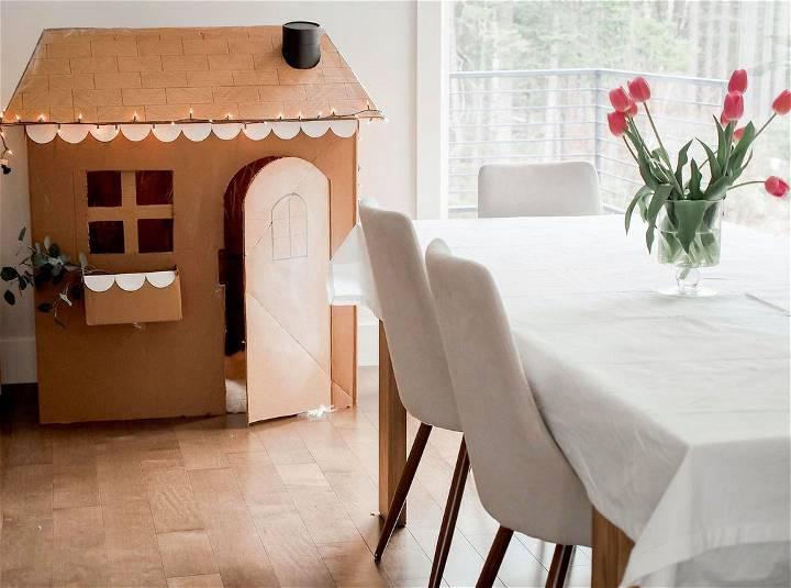 cardboard box house design