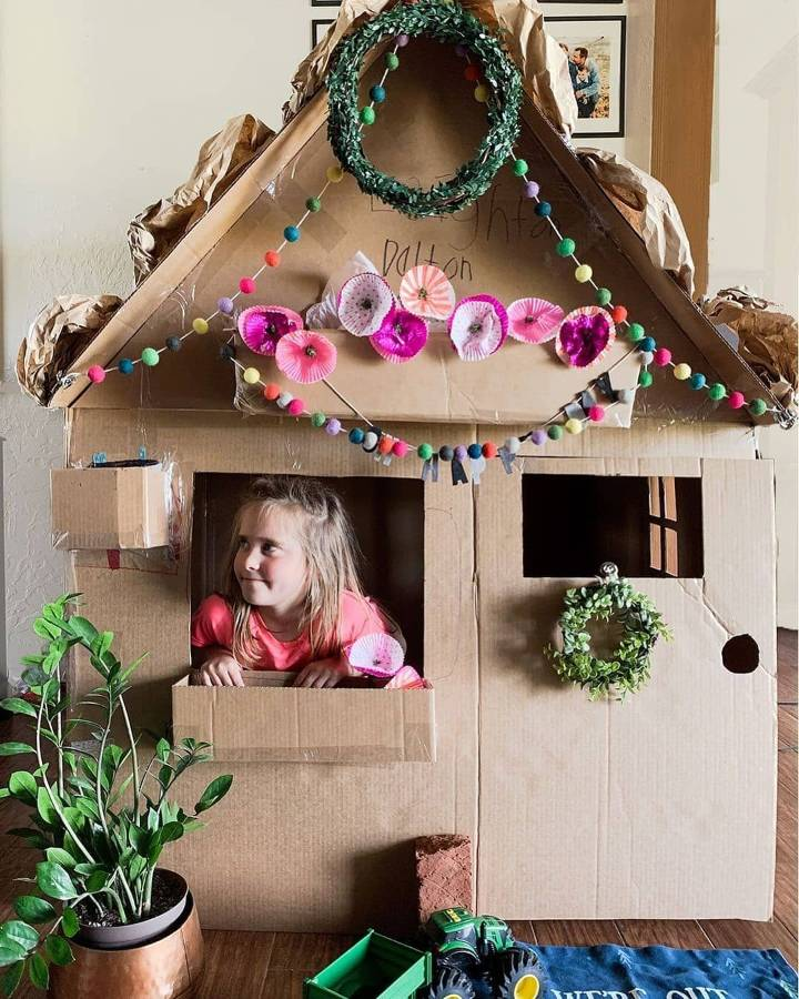 cardboard house for girls