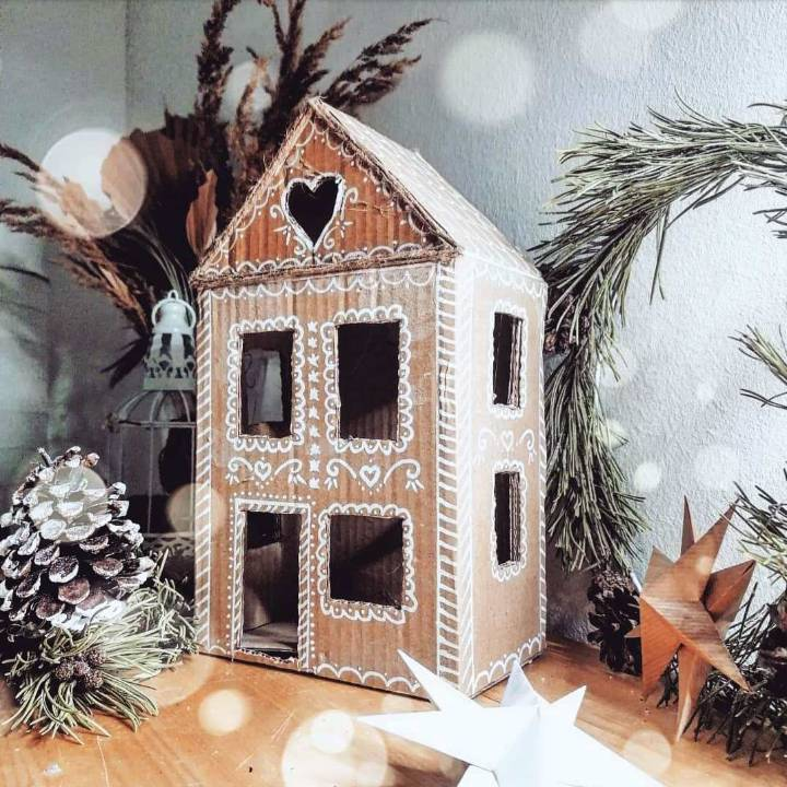 craft your own cardboard box house
