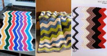 free crochet ripple afghan pattern 1