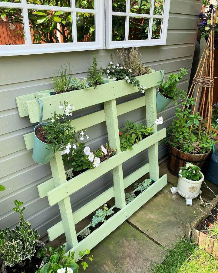 strawberry pallet garden Remember to feed your strawberries over summer so they continue producing