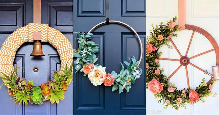 30 easy diy wreath ideas how to make a wreath
