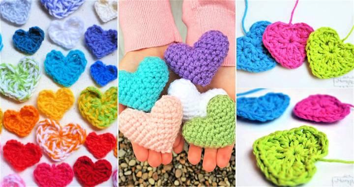 35 free crochet heart pattern
