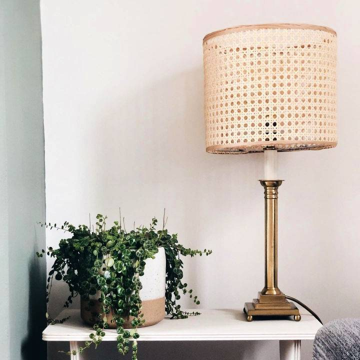 DIY lampshade