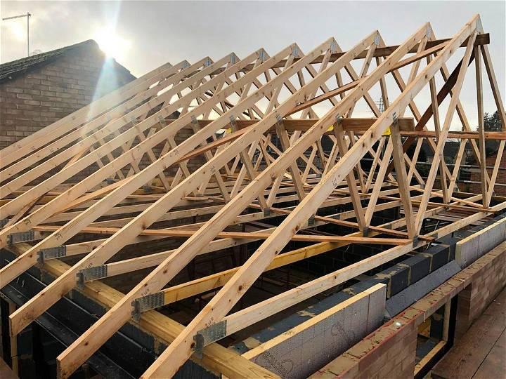 DIY roof trusses