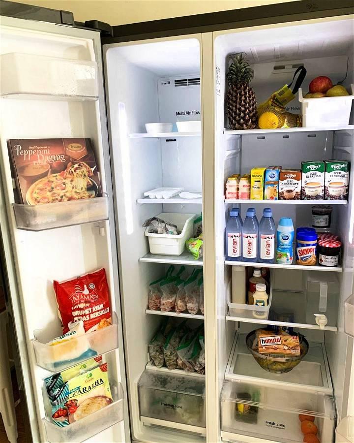best way to organize fridge