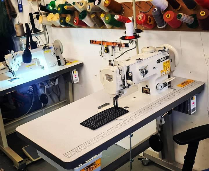 heavy duty sewing machine