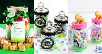 15 Cute and Unique Candies Jar Ideas