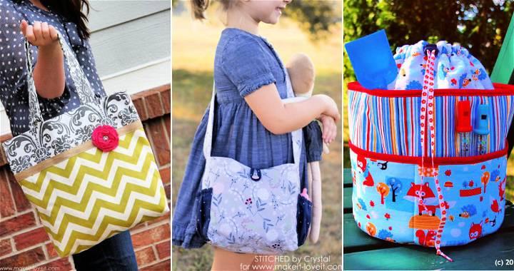 15 Free DIY Diaper Bag Patterns