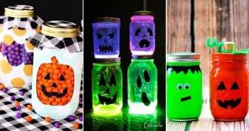 15 Simple Halloween Mason Jars Ideas