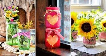 21 Best Mason Jar Centerpieces Ideas