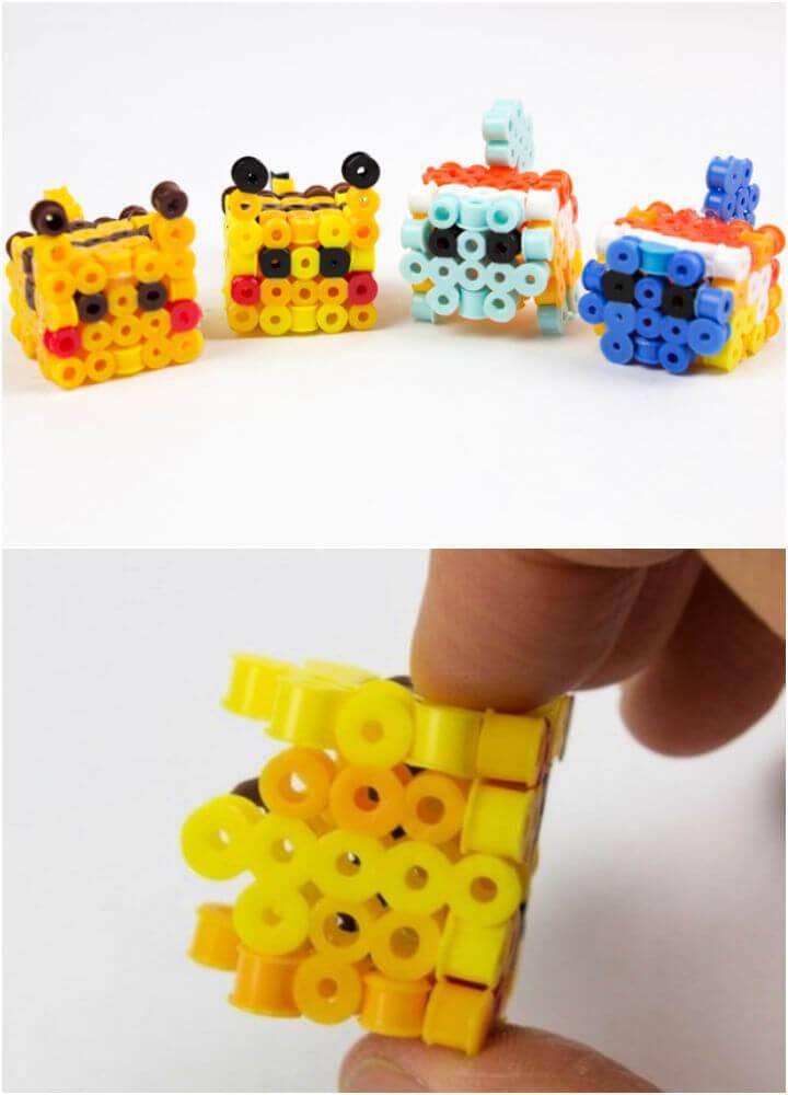 3D Perler Bead Pokemon