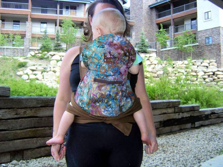 Asian Style Baby Carrier or Mei Tai